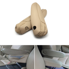Microfiber Leather Car Interior Seat Armrest Handle Covers Trim For Honda Odyssey 2004 2005 2006 2007 2008 2009 2010 2011 2012