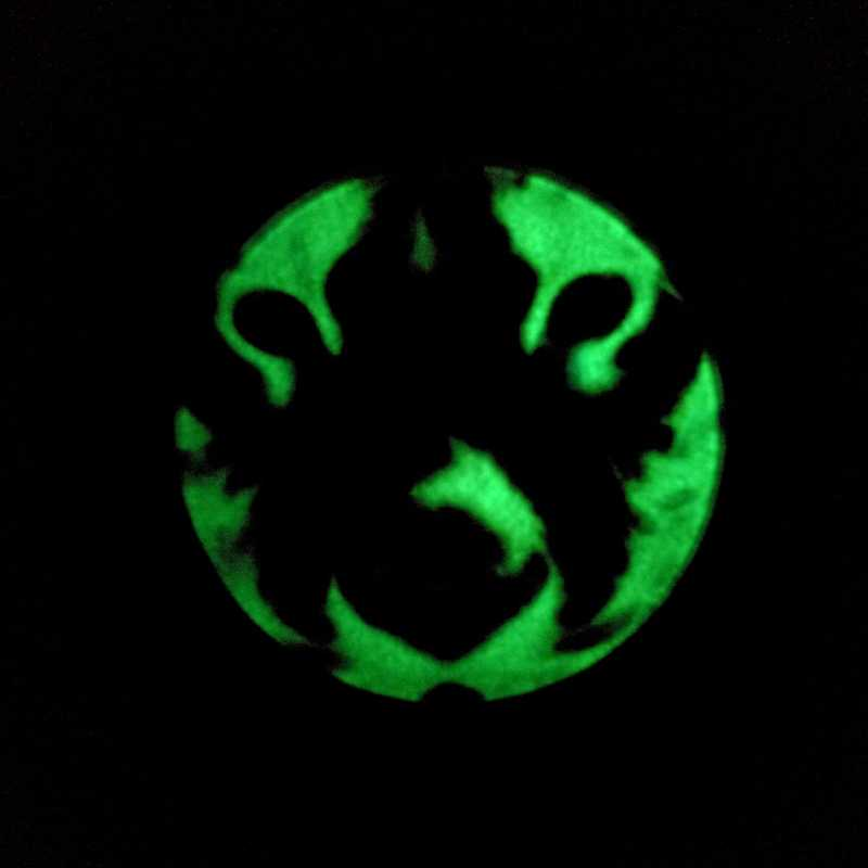 Brilhante Colar De tigre Tigre Pingente de Vidro de Vidro Foto Jóias Brilham no Escuro Pingente de Animais Silvestres