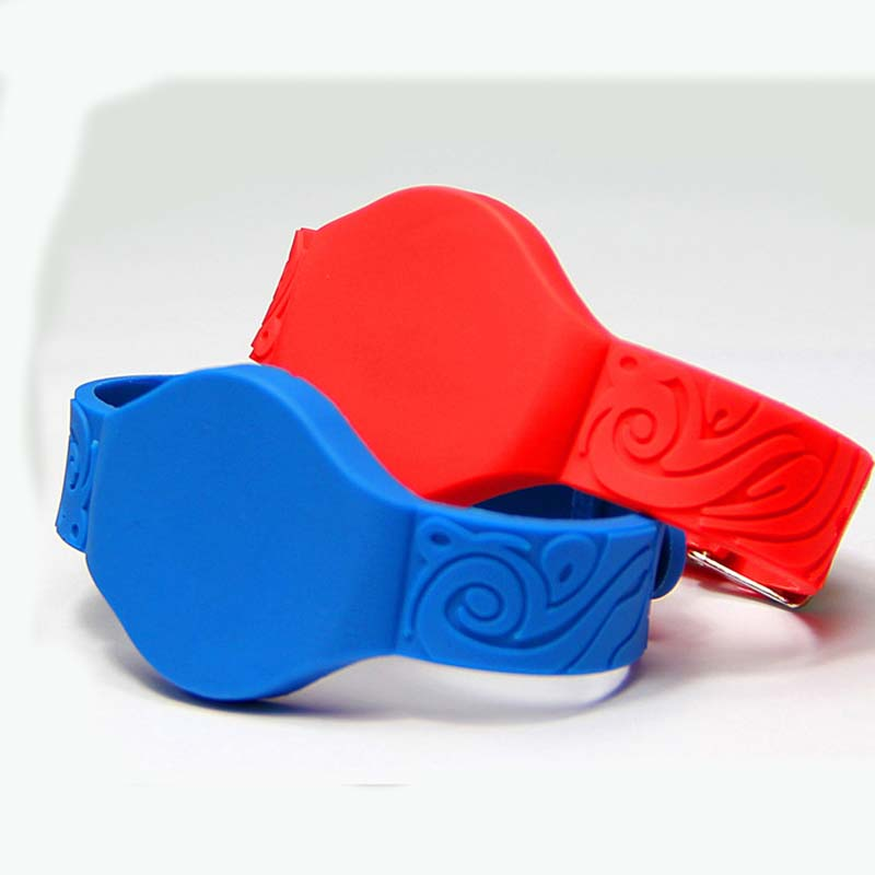 IC Silicone Hand Card For Access Control Supermarket Playground Personnel Identification Watch Ic Card