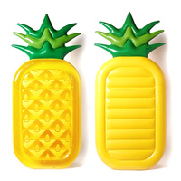 Inflatable Pineapple Float Kiwi Fruit Water Mattress Swimming Pool Toys Holiday Party Beach Bed Floating Island Boia Piscina