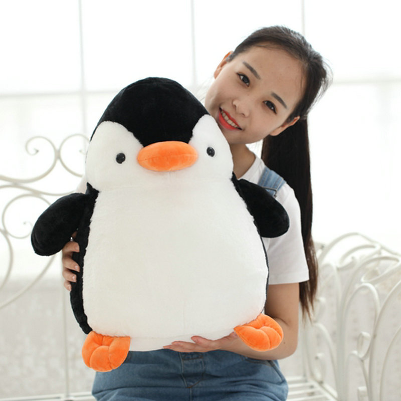25cm -45cm Cute Penguin Plush Toys 2017 New Style Fat Penguin cloth doll baby pillow Children Cushion Stuffed plush birthday gif купить