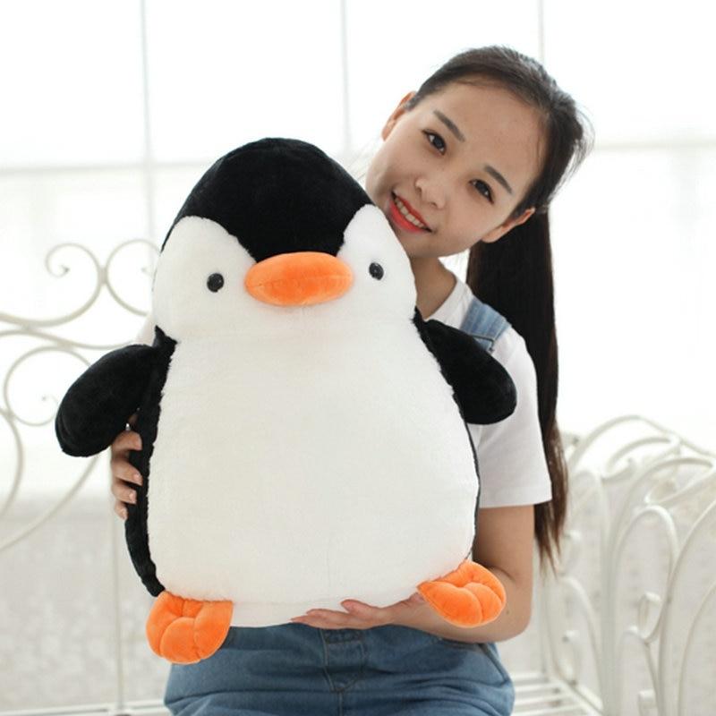 25cm -45cm Cute Penguin Plush Toys 2017 New Style Fat Penguin cloth doll baby pillow Children Cushion Stuffed plush birthday gif чехол для карточек cute penguin дк2018 148