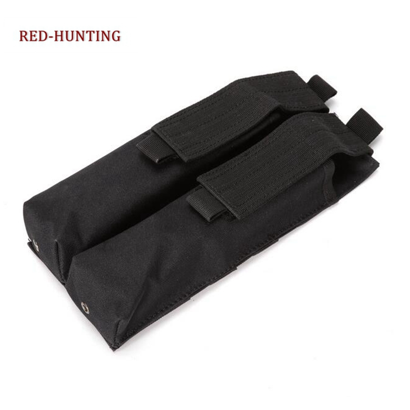 New Hunting Bag Tactical Airsoft Molle Double P90/UMP Military Magazine Pouch