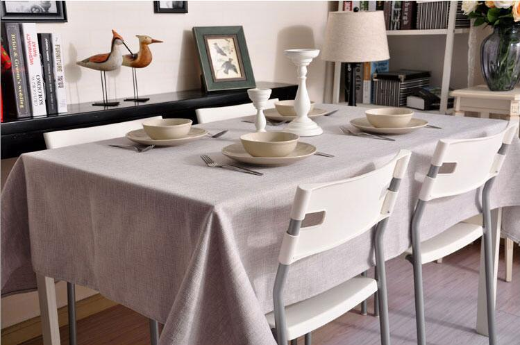 Great Classic Solid Color Tablecloths Thick Cloth Tablecloths Coffee Table Cloth  Tablecloths Cover In Tablecloths From Home U0026 Garden On Aliexpress.com |  Alibaba ...