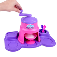 Manual Hand Crank Operated Ice Breaker for Fast Crushing Kids Kitchen Role Playset