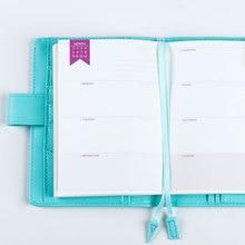 Lovedoki رقة مذكرات الشهرية الأسبوعية خطة سنوية للقيام قائمة النقدية كتاب ل A5A6 dokibook مفكرة استبدال الداخلية الأساسية إدراج