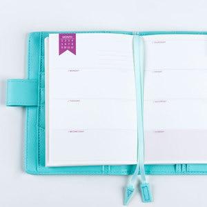 Image 1 - Lovedoki رقة مذكرات الشهرية الأسبوعية خطة سنوية للقيام قائمة النقدية كتاب ل A5A6 dokibook مفكرة استبدال الداخلية الأساسية إدراج