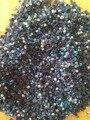 1000 pçs/lote SS3 1.6-2mm Preto AB Resina Strass Unhas Nails Art Glitter Cristais Decorações DIY AB Strass decoração