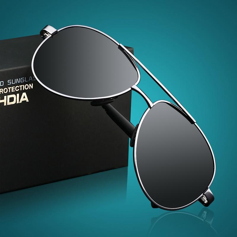VEITHDIA New Brand With Original Case Men's Polarized Sunglasses Sun Glasses Alloy Frame gafas oculos de sol masculino 1306