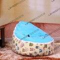FRETE GRÁTIS feijão bebê tampa saco com 2 pcs céu azul para cima tampa do bebê beanbags cadeira do bebê assento do bebê tampa do saco de feijão covers só