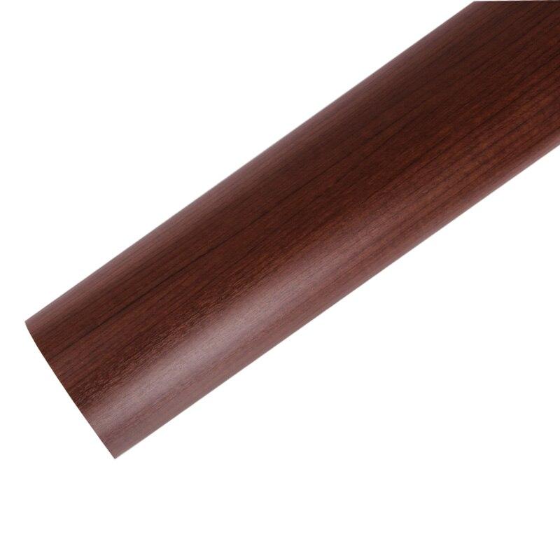 Épaississement pvc armoires de cuisine autocollants étanche grain du bois papier peint/étanche meubles wallpaper-W1551
