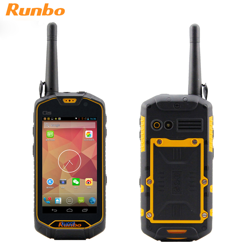 Original Runbo Q5 Waterproof Phone Rugged Android 5 1 Smartphone IP67 Shockproof 4G LTE MTK6735 Quad