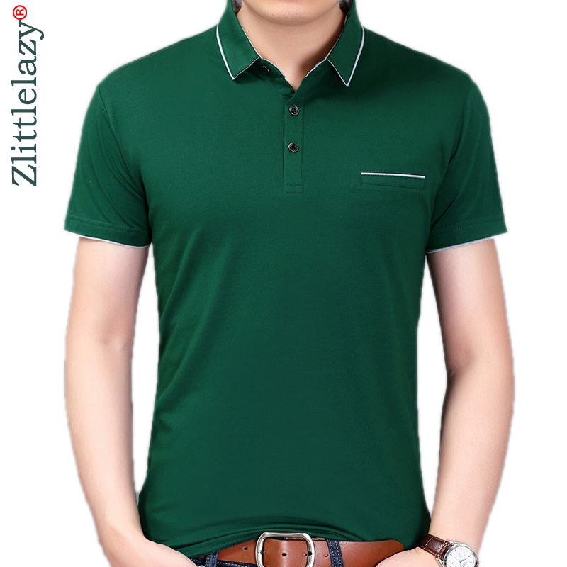 New summer   polo   shirt men short sleeve   polos   shirts solid slim fit mens pol clothes dress bodybuilding streetwear poloshirt 1076