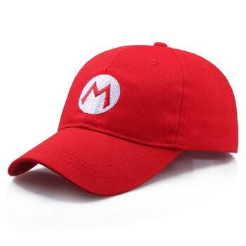 цена Game Super Mario Odyssey Cosplay Hat Adult Child Anime Super Mario Hat Cap Luigi Bros Cosplay Caps онлайн в 2017 году