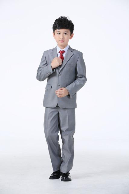 Kids Wedding Suits Blazers Coat Blouse Tie Pants Vest Children Suits