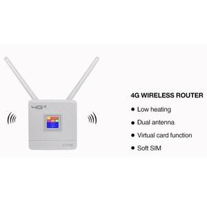 Image 2 - Sbloccato 4G Router antenna esterna WiFi Hotspot Wireless 3G 4G Wifi router WAN LAN RJ45 A Banda Larga CPE router Con Slot Per Sim Card