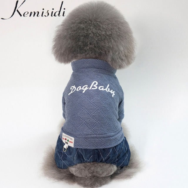 KEMISIDI Dog Clothes For Small Dogs Soft Pet Dog Sweater Clothing For Dog Autumn Chihuahua Clothes Classic Pet Outfit Ropa Perro