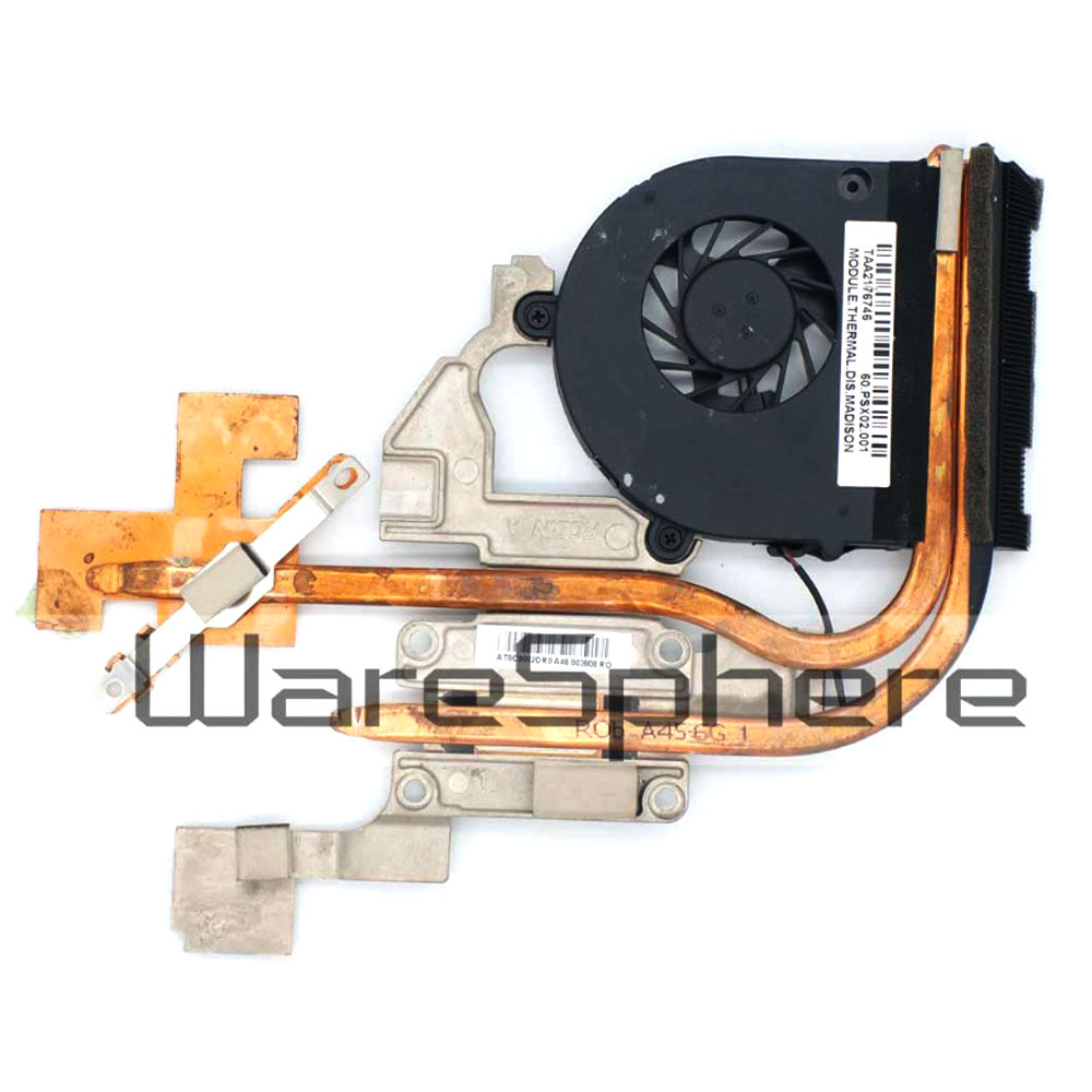 Brand New 0riginal CPU Heatsink and Cooling Fan for Acer Aspire 5741 5741g 5742 5742g 5551 5552 60PSX02001 AT0C9002DR0 Radiator wzsm original power switch button board with cable for acer aspire 5741 5741g 5742 5552 button board ls 5893p tested well