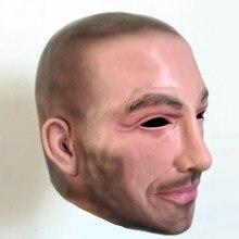 Envío Gratis fiesta de Halloween Cosplay hombre famoso David Beckham cara  máscara de látex para fiesta humano Real cara máscara . aa6c4d67449