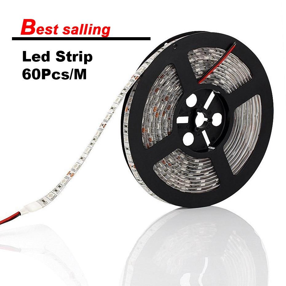 Low price 5m Waterproof IP65 IP33 LED Strip SMD5050 DC12V ...