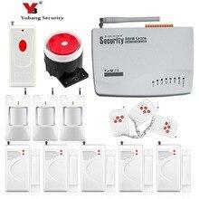 YobangSecurity Russian Voice House GSM Safe Alarm System Wi-fi GSM Safety Alarm System Handbook PIR Detector Door Sensor Package