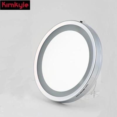 Mode 6-inch metalen led-make-upspiegel badkamer / haptor wandspiegel - Huidverzorgingstools - Foto 3
