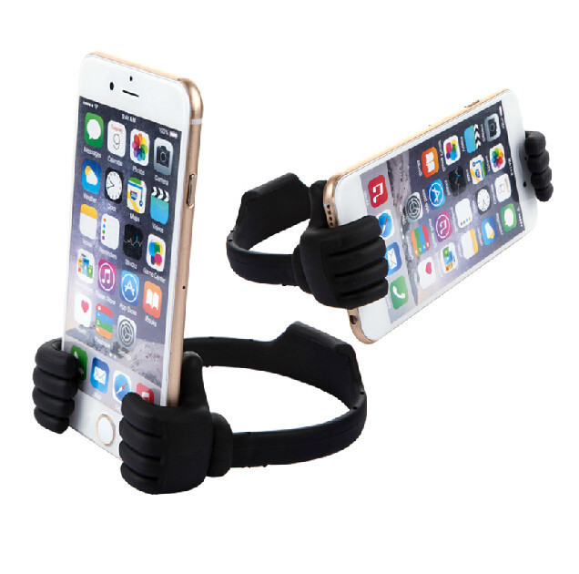 Mobile phone tablet Holder Thumbs Modeling Phone Stand Bracket