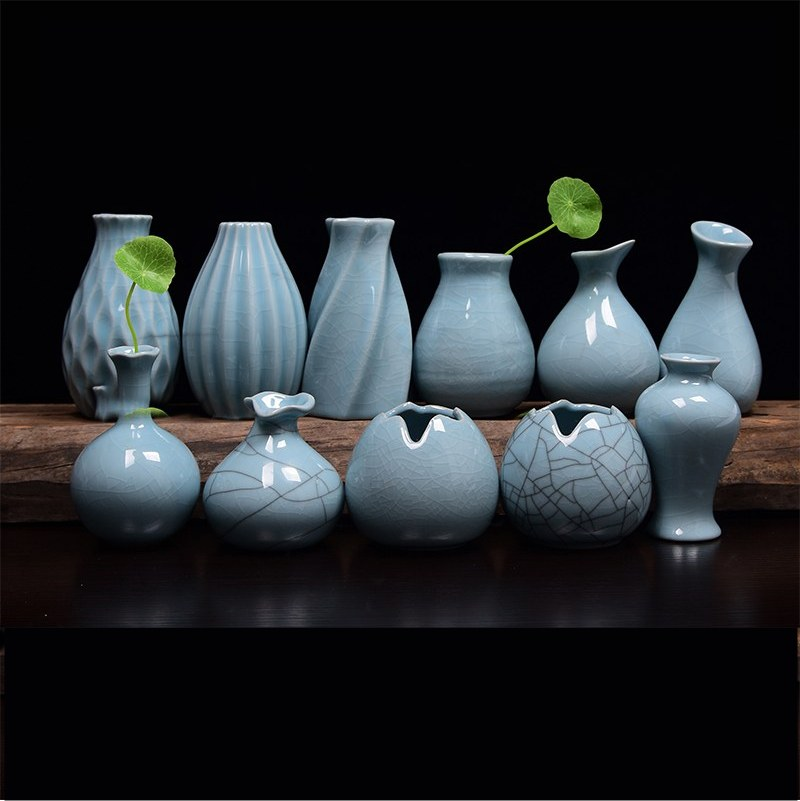 AISONG lq04 hydroponic ceramic Home Furnishing vase, table ornaments traditional Chinese ...