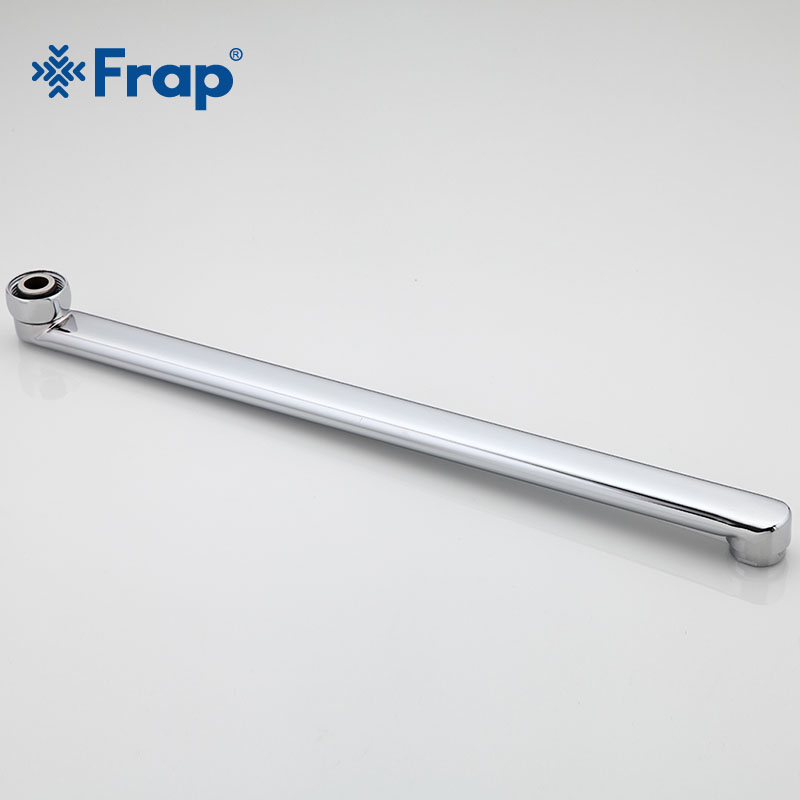 Frap New 3/4'' Bathtub Faucet Pipe Spout Faucet  Outlet Pipe Flexible Faucet Pipe Bathroom Faucet 20-50cm Accessories F20f