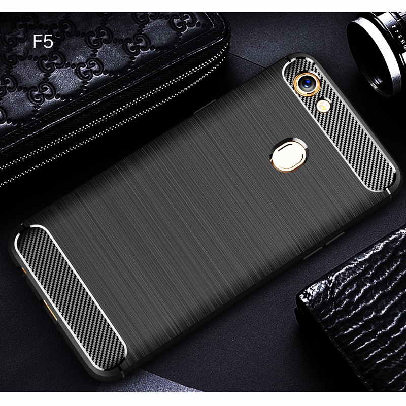 For OPPO F5 Case For OPPO F5 Cover Case Soft Silicone Shell Shockproof Rubber For OPPO F5 Back Cover For OPPO F5 Phone Cases