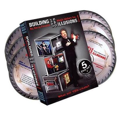 Building Your Own Illusions, The Complete Course By Gerry Frenette - Magic Tricks