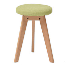 Stable Triangle Wooden Stool Simple Style Household Multifunction Leisure Stool Dining Chair Washable Makeup and Dressing Stool(China)