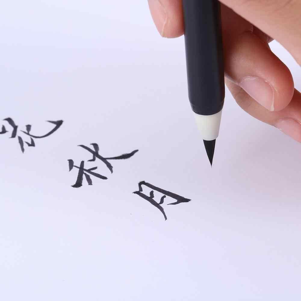 Professional ตัวอักษรแปรงปากกามือตัวอักษรปากกาเครื่องหมายศิลปะมังงะสำหรับเขียนเครื่องเขียนอุปกรณ์สำนักงานโรงเรียน