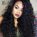7A Brazilian Virgin Hair Deep Curly Full Lace Human Hair Wigs Lace Front Human Hair Wigs With Baby Hair Curly Lace Front Wig