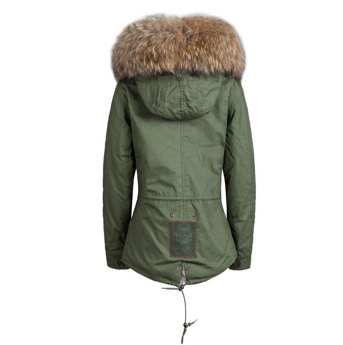 Manteau Longue Nouvelle Avec De Lapin Veste Arrivée Style Doublure Hiver Col Parka Réel Fourrure Long Chaud Véritable pZq68Fnp