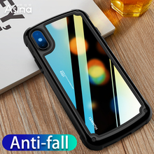 Shockproof Armor Case For iPhone X XR XS Max Luxury Hard PC+TPU Bumper Case Cover For iPhone 6 6S 7 8 Plus Fundas Coque Capas цена