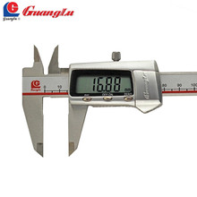 Promo offer GUANGLU Digital Caliper 6inch 0-150mm/0.01 Electronic Stainless Steel Vernier Calipers Gauge Micrometer Measuring Tools