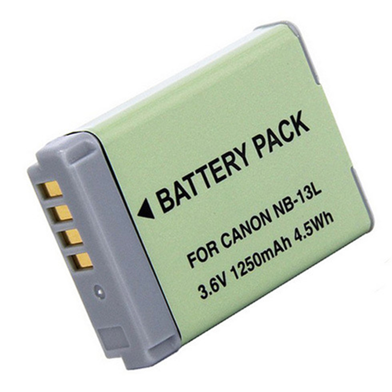 1250mAh NB-13L NB 13L NB13L Digital Battery for Canon PowerShot G5 X G5X G7 X Mark II G7X G9 X G9X SX720 HS Camera Batteries цена и фото