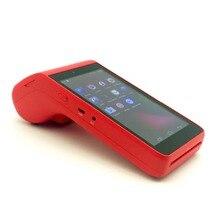 Все в одном handheld 4G android pos-таблетки терминала credit card reader для мобильных устройств кассовый аппарат для розничного магазина с 58 мм принтер 2 PSAM