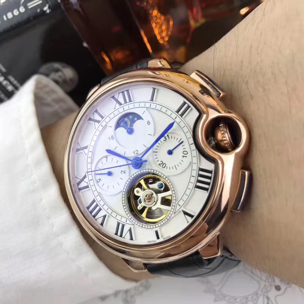 Mens Watches Top Brand Runway Luxury European Design Automatic Mechanical Watch S0705 цена и фото