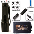LED 6000Lumens Torch CREE XM-L2 Flashlight High Power Torch Zoomable Flash Light Torch LED Light Lamp