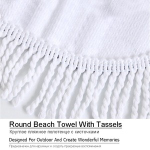 Image 5 - Mandala Printed Beach Towel Golden Microfiber Beach Towel Large Summer Tassel Bath Towel Sport Travel Picnic Blanket Yoga Toalla
