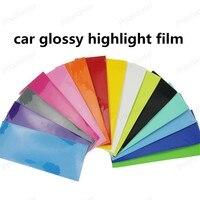 Multi Color Three highlight full body color change film wrap Car Sticker Self adhesive 20*152cm