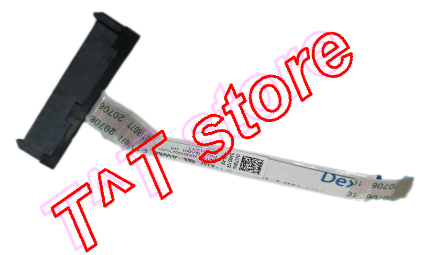 original 7577 7587 SATA HDD HARD DRIVE CONNECTOR CABLE T0GN3 0T0GN3 CN-0T0GN3 NBX00027L00 test good free shipping original svs13 series hdd hard drive cable connector v120 hdd fpc h 1p 1123x08 2111 fpc 270 test good free shipping