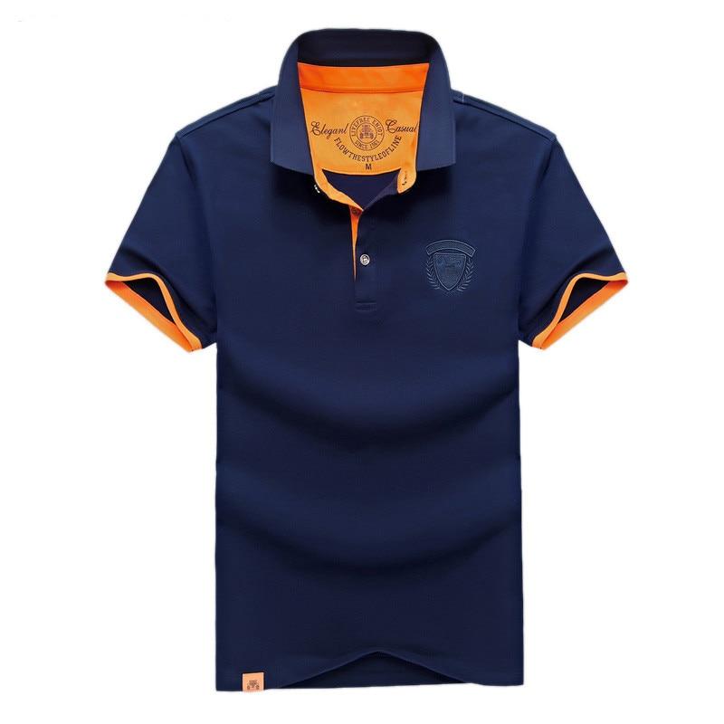 2018 새로운 도착 코튼 망 사업 짧은 쿨 여름 셔츠 브랜드 클래식 셔츠 남자 짧은 소매 착용 탑 티 플러스 크기 4XL