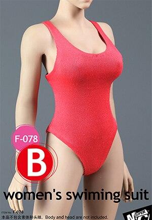 1//6 Scale Accessories Model Female Sheer Bodysuit Swimwear Mesh Bikini Sets