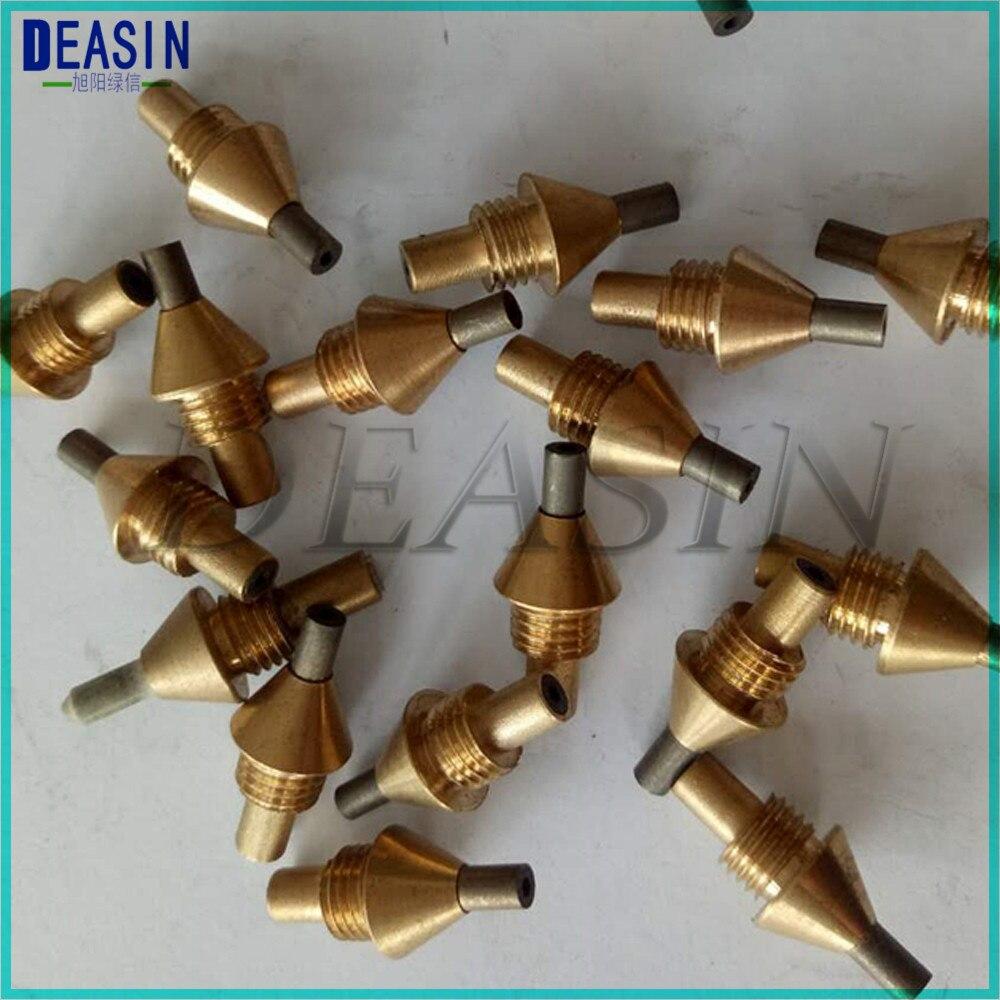 6 pcs Dental Lab Sandblasting Machine Blaster Pen Tip Nozzle Brass Dental instruments