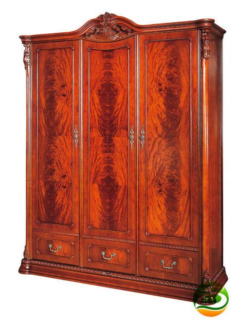 Armario armario de madera Clásica Tres armario