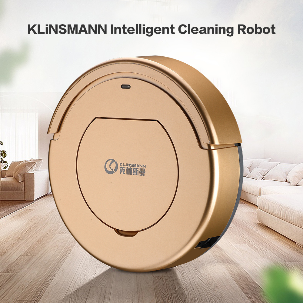 KLiNSMANN Intelligent Cleaning Robot Household Vacuum Cleaner Wet And Dry Sweep Mop Cleaning High Suction Home Vacuum Cleaner free all 2017 new liectroux robot vacuum cleaner a335 mop suction uv remote for home vacuum dry cleaning pet cat dog hair dust