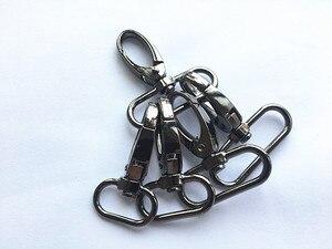 Image 2 - 20 шт./лот металлическая защелкивающаяся Пряжка для чемоданов и сумок, крючок для сумок, застежка карабин для самостоятельного шитья, пуговицы для ключей ручной работы